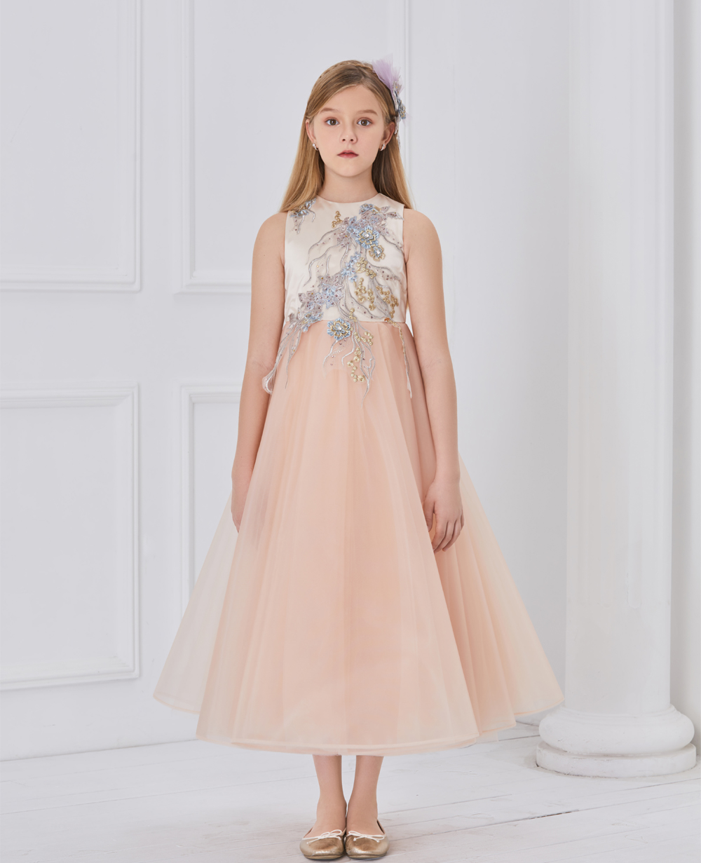 Princess Peach Sleeveless Tuelle Dress