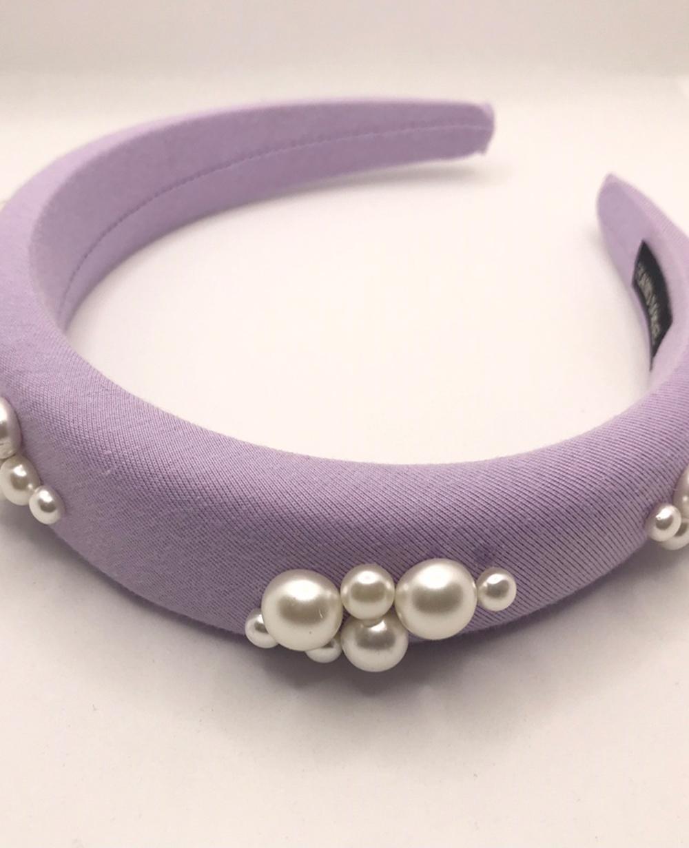 Purple Pearl Hairband