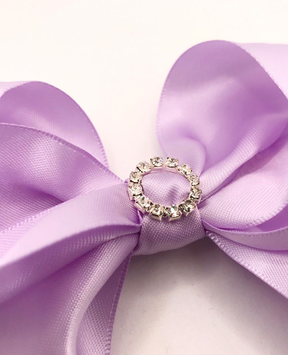 Purple Bow Hairclip