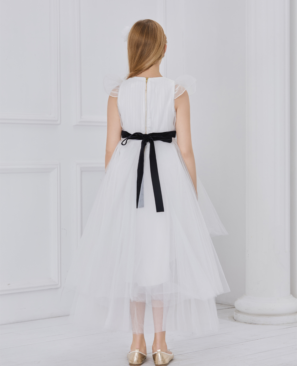 White Princess Tuelle Dress