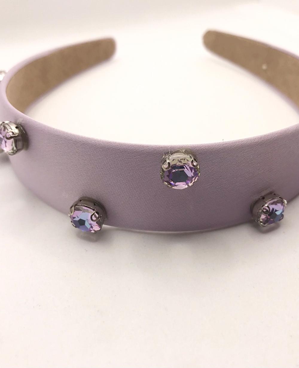Lilac Diamond Hairband