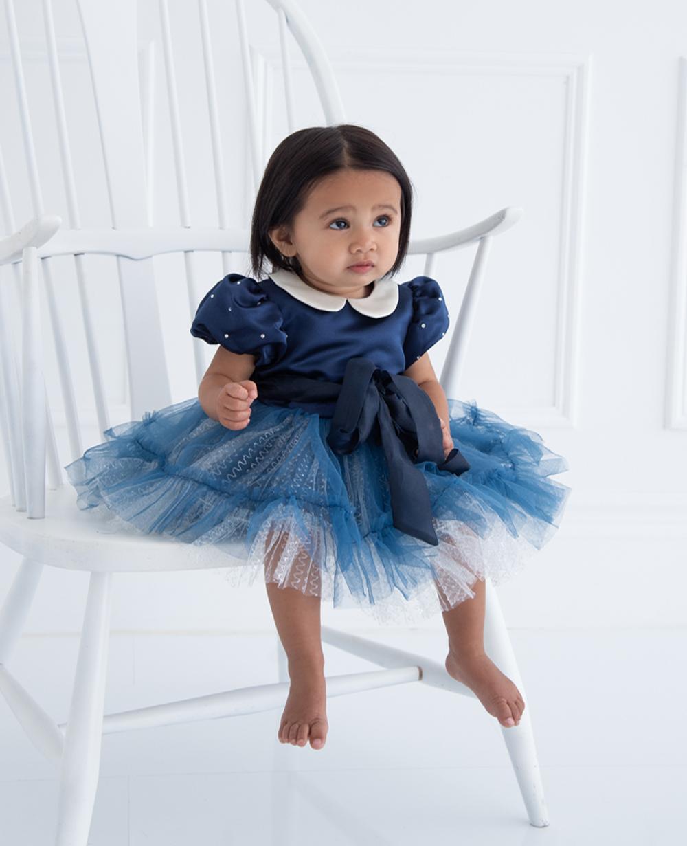 Navy Tuelle Baby Dress