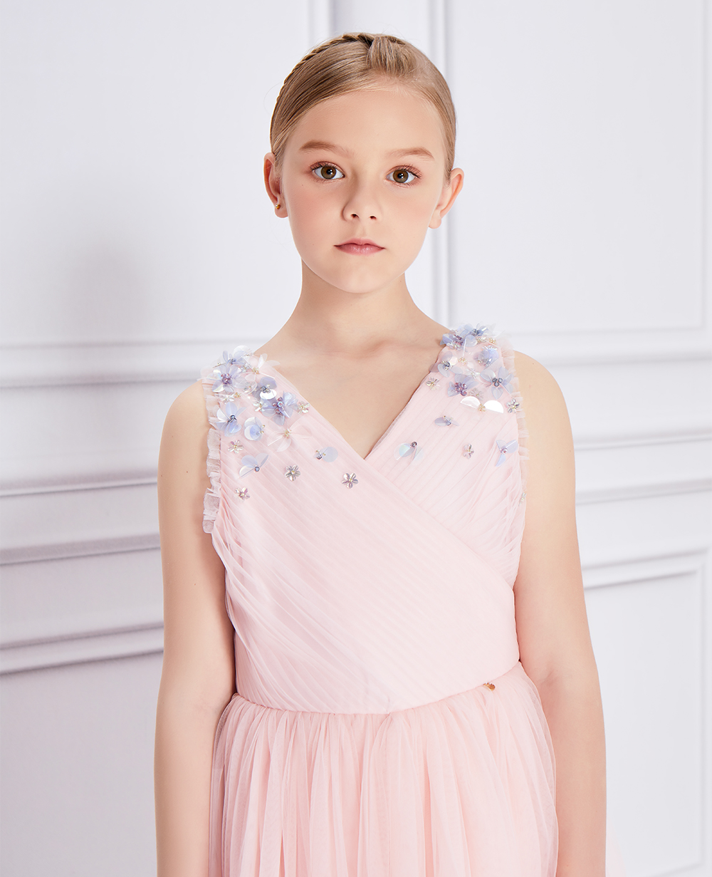 Pink Glitz Tulle Dress
