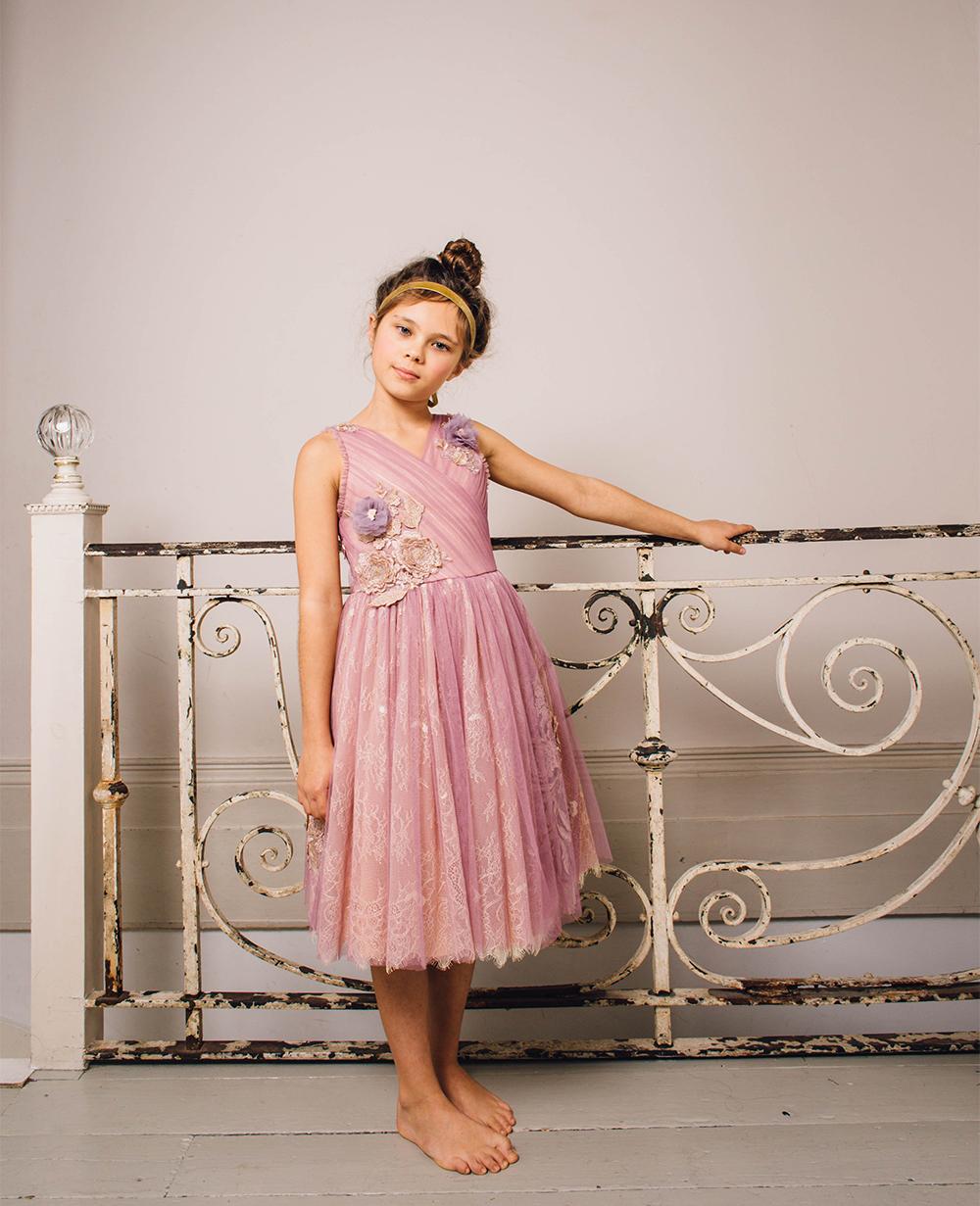 Lilac Swinger Purple Lace Dress  Sleeveless  Formal Wear Elegant Wedding Dress