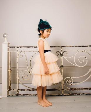 Magnolia Short Dress Tulle Skirt Sleeveless