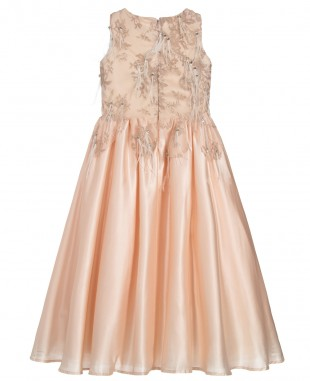 Cream Satin Dress Maxi Dress Sleeveless Lace Dress